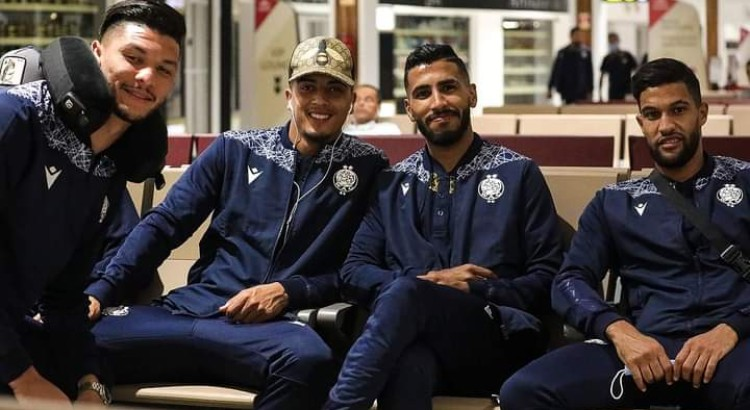 Wydad player on their way to SA to face Chiefs