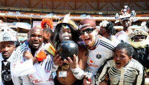 Pirates Fans Happy Modise